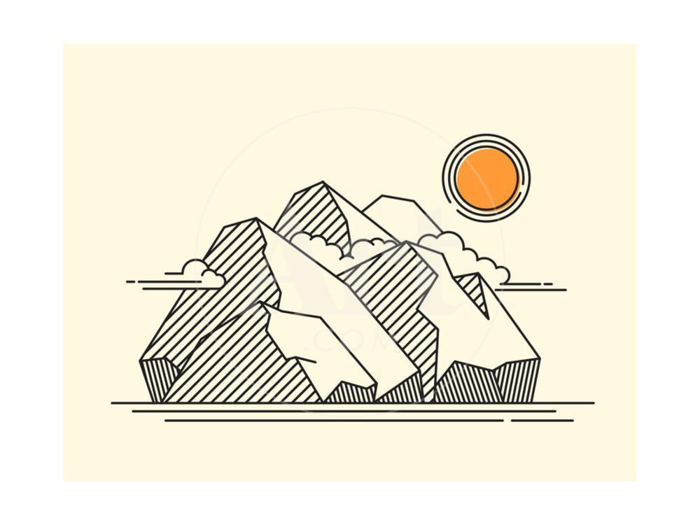 Polygonal Geometric Style Illustration Of A Basketball Player Jump