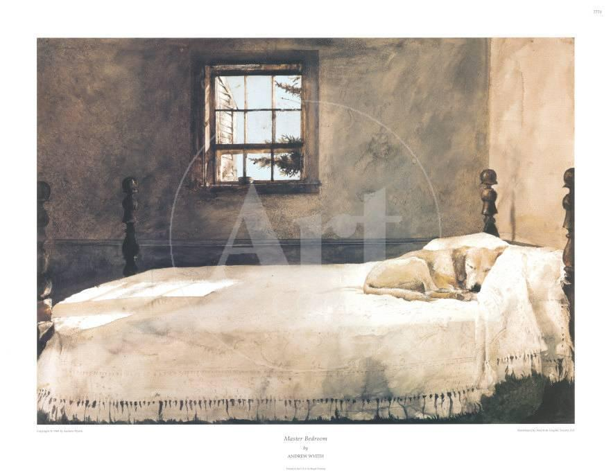 master bedroom art print by andrew wyeth at art co uk 14379 | andrew wyeth master bedroom a g 290858 0 w 881 h 680